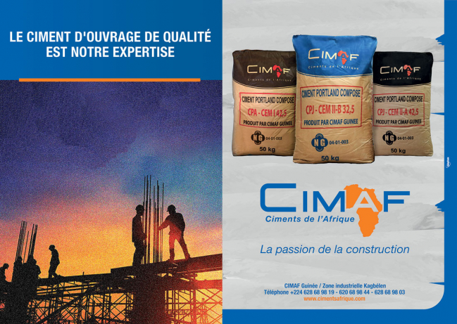 CIMAF (CIMENTS DE L'AFRIQUE GUINEE SA)