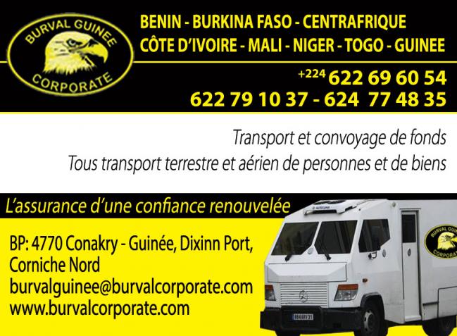 BURVAL CORPORATE GUINEE SA